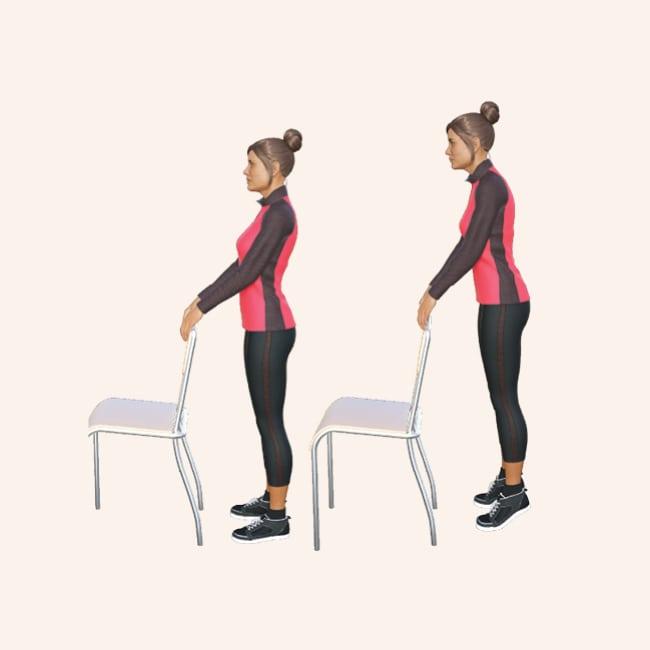 Esercizi per le gambe pesanti